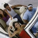 Eva Mendes, Mike Epps, Valarie Rae Miller and Ice Cube in New Line's All About The Benjamins - 2002
