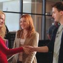 Michelle (Alyson Hannigan) introduces her sister, Cadence (January Jones) to an admiring Finch (Eddie Kaye Thomas)