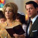 Rita Wilson as Anne Crane and Greg Kinnear as Bob Crane in Sony Pictures Classics' Auto Focus - 2002