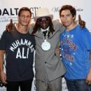Wade Martin's premiere of music videos by Flavor Flav  at STK at The Cosmopolitan of Las Vegas on September 1, 2015 in Las Vegas, Nevada - 454 x 342