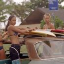 Kate Bosworth, Michelle Rodriguez, Sanoe Lake and Mika Boorem in Universal's Blue Crush - 2002