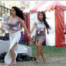 Jaci Velasquez, Roselyn Sanchez and Sofia Vergara in 20th Century Fox's Chasing Papi - 2003