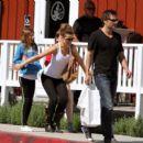 Kate Beckinsale - In Spandex, September 18, 2010