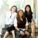 Raven-Symone´ , Margo Harshman, and Brenda Song in COLLEGE ROAD TRIP.