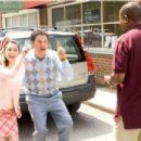 (L to R) MOLLY EPHRAIM, DONNY OSMOND and MARTIN LAWRENCE in COLLEGE ROAD TRIP © Disney Enterprises, Inc. All rights reserved. Photo Credit: John Clifford. - 454 x 302