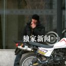 """Keanu Reeves during breaks from filming the movie """"Man of Tai Chi"""" 11-03-2012"""