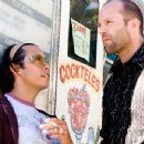 Efren Ramirez as Kaylo and Jason Statham as Chev in Lions Gate Films', Crank - 2006