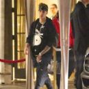 Justin Bieber — Leaving the Four Seasons hotel in Beverly Hills — May 10, 2014