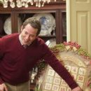 Holiday fanatic Steve Finch (Matthew Broderick) maps out the month's events. Photo credit: Doane Gregory.
