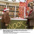 Soon-to-be-warring neighbors Buddy Hall (Danny DeVito, left) and Steve Finch (Matthew Broderick) run into each other at the Christmas festival. Photo credit: Doane Gregory