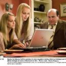 Buddy Hall (Danny DeVito) watches his twin daughters Ashley (Sabrina Aldridge) and Emily (Kelly Adridge) do some critical work for him. Photo credit: Doane Gregory