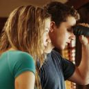 Ashley (Sarah Roemer) and Kale (Shia LaBeouf) in DreamWorks Pictures' Disturbia - 2007.
