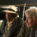Arthur (Philip Baker Hall) and Norman (Bill Cobbs) share a bench. Photo credits by Mark Lampert