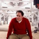 Director Jon Favreau on the set of New Line Cinema's upcoming family comedy, Elf.