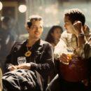 John Leguizamo and Vincent Laresca in Universal's Empire - 2002