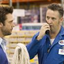 Dane Cook and Harland Williams in Lions Gate Films', Employee of the Month - 2006
