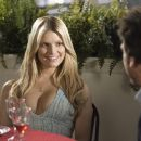 Amy (Jessica Simpson) with Zack (Dane Cook) in Greg Coolidge comedy 'Employee of the Month - 2006.'