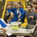 Andy Dick, Harland Williams and Dane Cook in comedy movie 'Employee of the Month' 2006