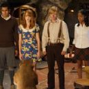 Left to Right: Kal Penn as Edmund, Jayma Mays as Lucy, Faune A. Chambers as Susan and Adam Campbell as Peter in adventure comedy 'Epic Movie' 2007 - 345 x 231