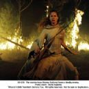 The warrior Arya (Sienna Guillory) faces a deadly enemy. Photo credit: David Appleby