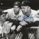Lou Boudreau, Enos Slaughter & Johnny Sain With The Kansas City Athletics 1955
