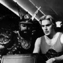 William Hootkins and Sam J. Jones in Flash Gordon. - 394 x 293