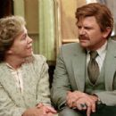Catherine O'Hara as Marilyn Hack and John Michael Higgins as Corey Taft in director Christopher Guest's For Your Consideration. Photo credit: Suzanne Tenner © 2006 Shangri-La Entertainment, LLC.