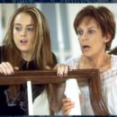 Lindsay Lohan and Jamie Lee Curtis in Disney's Freaky Friday - 2003
