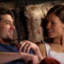 Patrick Dempsey as Scott Casey and Hilary Swank as Erin Gruwell in Paramount Pictures' Freedom Writers - 2007