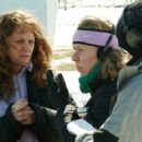 Left: Melissa Leo; Right: Director Courtney Hunt. Photos by Jory Sutton © 2007 Frozen River Productions, LLC.  Courtesy Sony Pictures Classics.