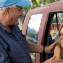 Director Garry Marshall with Lindsay Lohan on the set of Georgia Rule - 2007