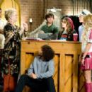 (L-R) Chris Warren, Jr., Alyson Reed, Corbin Bleu, Ryne Sanborn, Olesya Rulin, Lucas Grabeel and Ashley Tisdale. Photo by: John Bramley. ©Disney Enterprises, Inc. All rights reserved. - 454 x 302