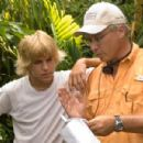 Mullet Fingers (Cody Linley) and Mr. Ryan (Jimmy Buffett ) in New Line Cinema Productions, Hoot