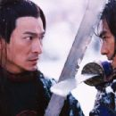 Andy Lau as Leo (left) and Takeshi Kaneshiro as Jin (right) in Sony Pictures Classics' House of Flying Daggers - 2004 - 454 x 303