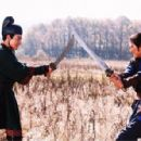 Andy Lau (left) and Takeshi Kaneshiro (right) in in Sony Pictures Classics' House of Flying Daggers - 2004 - 454 x 297