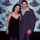 Janeane Garofalo and Ben Stiller At The 1996 MTV Movie Awards