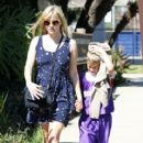 Reese Witherspoon:  from a baskeball game in Brentwood