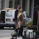 Jennifer Lawrence – Stroll with her husband in New York