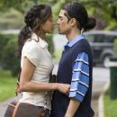 Wanda De Jesus as Millie DeLeon and Rick Gonzalez as Wilson De Leon, Jr. in Illegal Tender - 2007