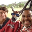 Jerry O'Connell, Kangaroo Jack and Anthony Anderson in Castle Rock Entertainment's family action adventure comedy, 'Kangaroo Jack,' distributed by Warner Bros. Pictures.