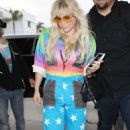 Kesha Sebert – Spotted at Lax Airport In Los Angeles - 454 x 696