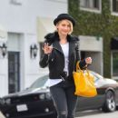 Julianne Hough Street Style Out and About In Beverly Hills