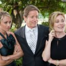 Christine Taylor as Lindsay, Peter Strauss as Mr. Jones and Angela Kinsey as Judith in comedy romance 'License to Wed'