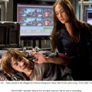 Deadly operative Mai (Maggie Q) threatens beleaguered hacker Matt Farrell (Justin Long). Photo credit: Frank Masi