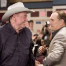 "L.C. Cheever (Robert Duvall) and Doyle Brunson wish each other luck at the WSOP in Warner Bros. Pictures' and Village Roadshow Pictures' ""Lucky You."" The film also stars Eric Bana and Drew Barrymore. Photo: Merie W. Wallace"