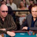 "Ralph Kaczynski (John Hennigan) and L.C. Cheever (Robert Duvall) at the featured table of the WSOP in Warner Bros. Pictures' and Village Roadshow Pictures' ""Lucky You."" The film also stars Eric Bana and Drew Barrymore. Photo: Merie"
