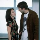 Shannen Doherty stars as Rene Mosier and Jason Lee as Brodie Bruce in Gramercy Pictures' comedy Mallrats - 1995