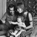 Jane Fonda and Roger Vadim - 454 x 307