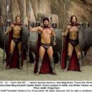 13 -- that's 300-287 -- valiant Spartan warriors, including Sonio (Travis Van Winkle, left), Leonidas (Sean Maguire)and Captain (Kevin Sorbo) prepare to battle one million Persian soldiers. Photo credit: Doug Hyun