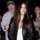 Kourtney Kardashian Night Out In Hollywood